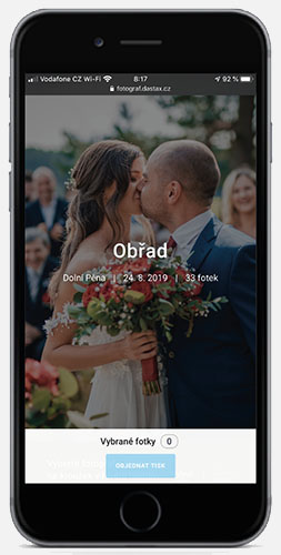 fotoalbum v mobilu